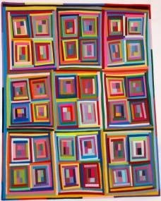 "Playful Colour Blocks - 30"" x 39"" - $585"