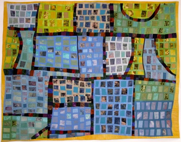 """Urban Mosaic - 51"""" x 66"""" - $1,500"""