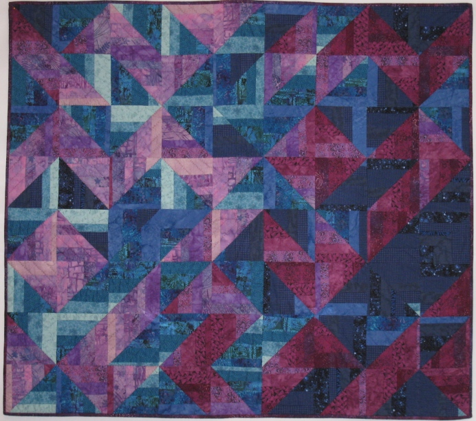The Purple Blues – 51.75″ x 46″ – $1,000