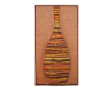 """Striped Urn - 16"""" X 30.25 - Sold"""