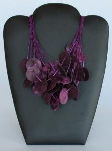 Purple Circles - $110.00