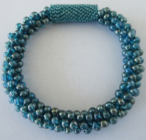 Turquoise-Czech Glass Beads $60.00