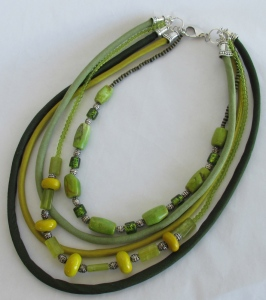 green-silk-ceramic-beads